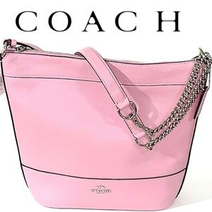 COACH TULIP PINK PAXTON DUFFLE